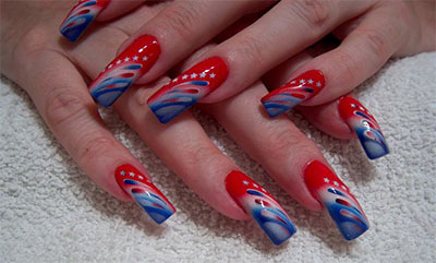 Nail Polish Ideas For 4th Of July Creative Touch