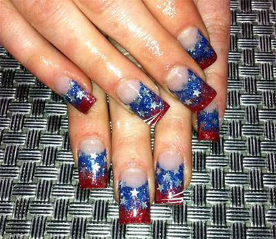 10 amazing fourth of july acrylic nail art designs ideas 10 amazing fourth of july acrylic nail art prinsesfo Choice Image