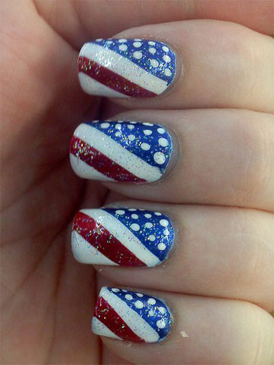 Nail art design for july 4 th of july acrylic nail art designs th of july nail art designs everything about fashion today view images prinsesfo Gallery