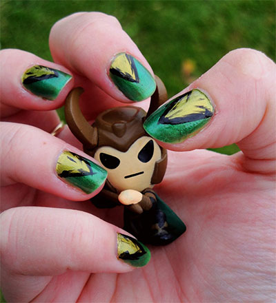 10-Cool-Loki-Nail-Art-Designs-Ideas-Trends-Stickers-2014-5