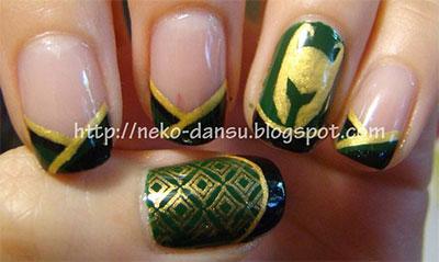 10-Cool-Loki-Nail-Art-Designs-Ideas-Trends-Stickers-2014-7