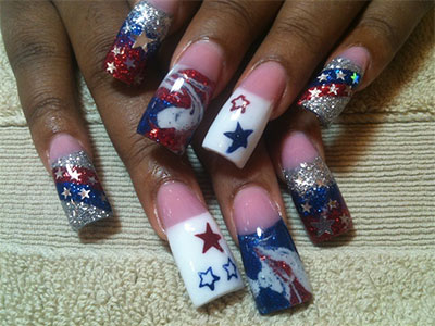 10-Elegant-Fourth-Of-July-Nail-Art-Designs-Ideas-Trends-2014 -4th-Of-July-Nails-1