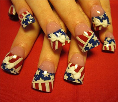 10-Elegant-Fourth-Of-July-Nail-Art-Designs-Ideas-Trends-2014 -4th-Of-July-Nails-3
