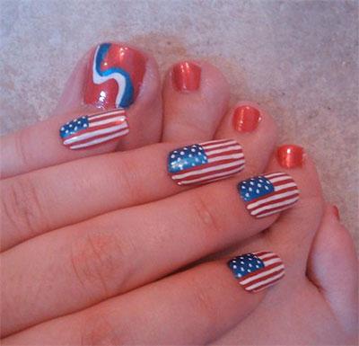 10-Elegant-Fourth-Of-July-Nail-Art-Designs-Ideas-Trends-2014 -4th-Of-July-Nails-5