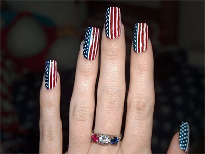 10-Elegant-Fourth-Of-July-Nail-Art-Designs-Ideas-Trends-2014 -4th-Of-July-Nails-6