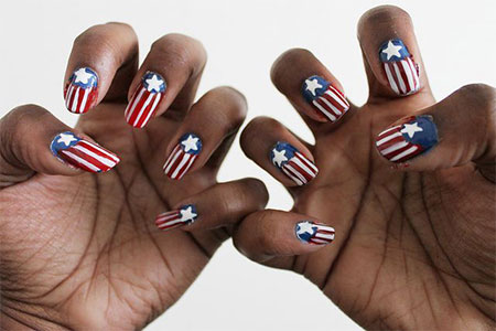 12-Awesome-Captain-America-Nail-Art-Designs-Ideas-Trends-Stickers-2014-1