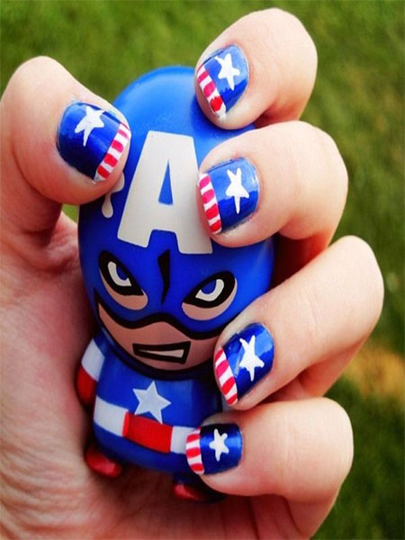 12-Awesome-Captain-America-Nail-Art-Designs-Ideas-Trends-Stickers-2014-11