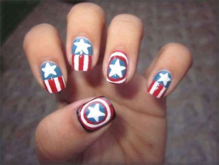 12-Awesome-Captain-America-Nail-Art-Designs-Ideas-Trends-Stickers-2014-4