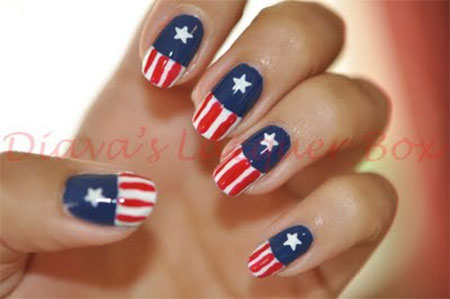 12-Awesome-Captain-America-Nail-Art-Designs-Ideas-Trends-Stickers-2014-5