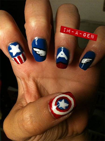 12-Awesome-Captain-America-Nail-Art-Designs-Ideas-Trends-Stickers-2014-9