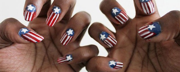 12-Awesome-Captain-America-Nail-Art-Designs-Ideas-Trends-Stickers-2014