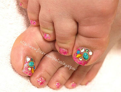 12-Gel-Toe-Nail-Art-Designs-Ideas-Trends-Stickers-2014-Gel-Nails-8