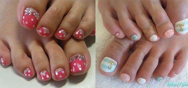 12 gel toe nail art designs ideas trends stickers 2014 gel nails fabulous nail art designs - Gel Nails Designs Ideas