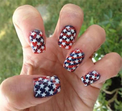 4th Of July Nail Art Design Design And House Design Propublicobono