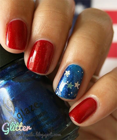 15 easy simple fourth of july nail art designs ideas trends 15 american flag nail art designs ideas trends prinsesfo Images