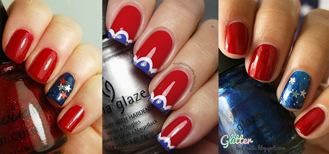 12 easy step by step halloween nail art tutorials for beginners 15 american flag nail art designs ideas trends prinsesfo Choice Image