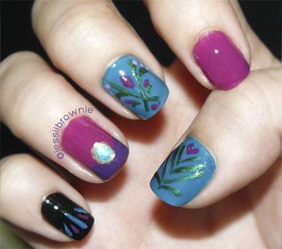 15-Disney-Frozen-Elsa-Nail-Art-Designs-Ideas-Stickers-2014-Elsa-Nails-13