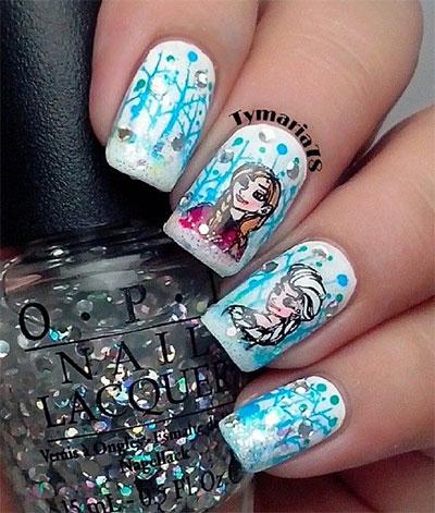 15-Disney-Frozen-Elsa-Nail-Art-Designs-Ideas-Stickers-2014-Elsa-Nails-7