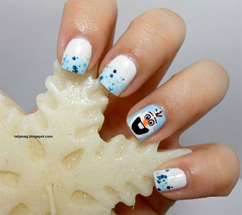 15-Disney-Frozen-Olaf-Nail-Art-Designs-Ideas-Trends-Stickers-2014-Olaf-Nails-10