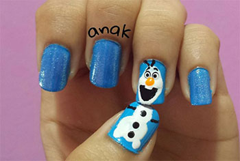 15-Disney-Frozen-Olaf-Nail-Art-Designs-Ideas-Trends-Stickers-2014-Olaf-Nails-11