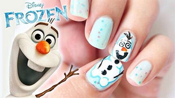 15-Disney-Frozen-Olaf-Nail-Art-Designs-Ideas-Trends-Stickers-2014-Olaf-Nails-2