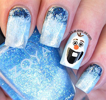 15-Disney-Frozen-Olaf-Nail-Art-Designs-Ideas-Trends-Stickers-2014-Olaf-Nails-4