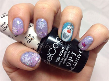 15-Disney-Frozen-Olaf-Nail-Art-Designs-Ideas-Trends-Stickers-2014-Olaf-Nails-6