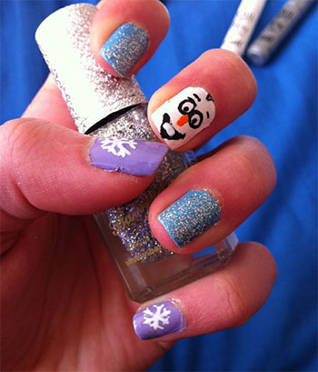 15-Disney-Frozen-Olaf-Nail-Art-Designs-Ideas-Trends-Stickers-2014-Olaf-Nails-7