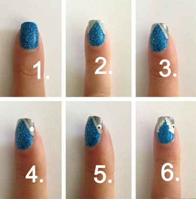 15-Easy-Nail-Art-Tutorials-For-Beginners-Learners-2014-1