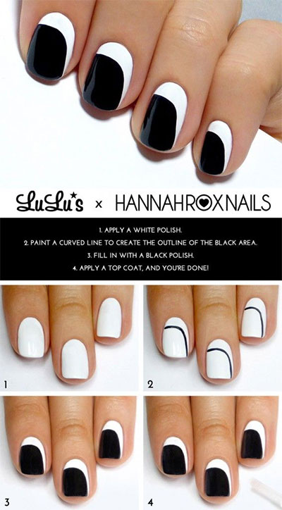 15-Easy-Nail-Art-Tutorials-For-Beginners-Learners-2014-10