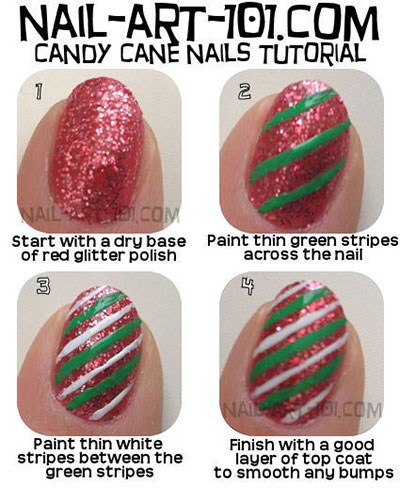 15-Easy-Nail-Art-Tutorials-For-Beginners-Learners-2014-11