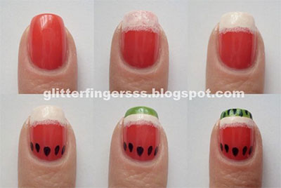 15-Easy-Nail-Art-Tutorials-For-Beginners-Learners-2014-14