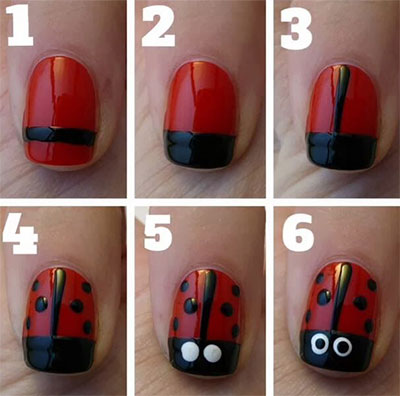 15-Easy-Nail-Art-Tutorials-For-Beginners-Learners-2014-2
