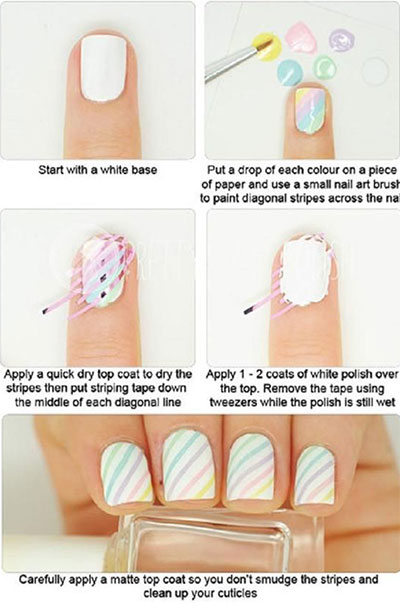 15-Easy-Nail-Art-Tutorials-For-Beginners-Learners-2014-5