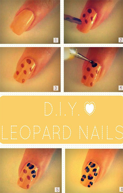15-Easy-Nail-Art-Tutorials-For-Beginners-Learners-2014-7