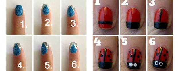 15-Easy-Nail-Art-Tutorials-For-Beginners-Learners-2014