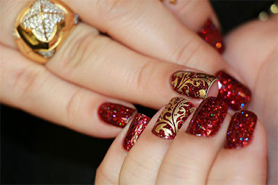 15-Glitter-Gel-Nail-Art-Designs-Ideas-Trends-Stickers-2014-Gel-Nails-6
