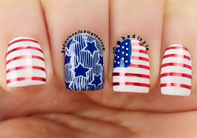 15-Stunning-Fourth-Of-July-Nail-Art-Designs-Ideas-Trends-Stickers-2014-4th-Of-July-Nails-14