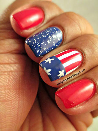 15 stunning fourth of july nail art designs ideas trends 15 stunning fourth of july nail art designs prinsesfo Images