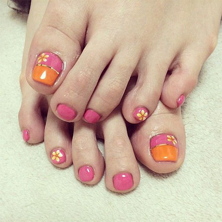20-Easy-Simple-Toe-Nail-Art-Designs-Ideas- - 20 + Easy & Simple Toe Nail Art Designs, Ideas & Trends 2014 For