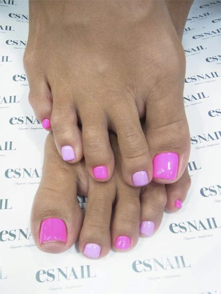 20 Simple Nail Designs For Beginners: 20 + Easy & Simple Toe Nail Art Designs, Ideas & Trends