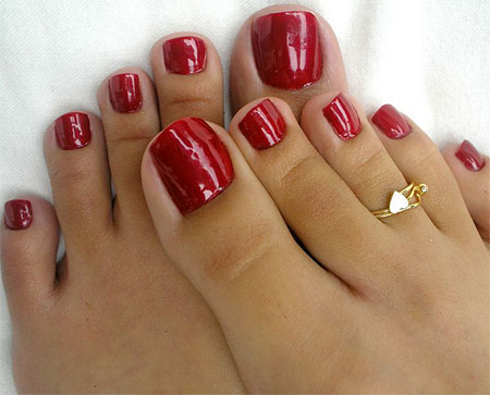 20-Easy-Simple-Toe-Nail-Art-Designs-Ideas-Trends-For-Beginners-Learners-2014-20