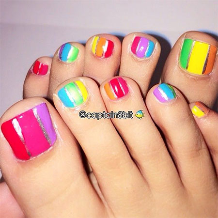 20  easy  simple toe nail art designs ideas  trends