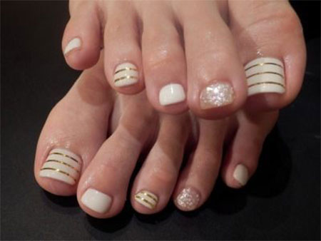 20 + Easy & Simple Toe Nail Art Designs, Ideas & Trends 2014 For ...