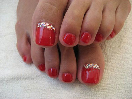 20-Easy-Simple-Toe-Nail-Art-Designs-Ideas-Trends-For-Beginners-Learners-2014-7