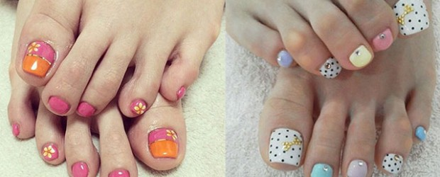 20-Easy-Simple-Toe-Nail-Art-Designs-Ideas-Trends-For-Beginners-Learners-2014