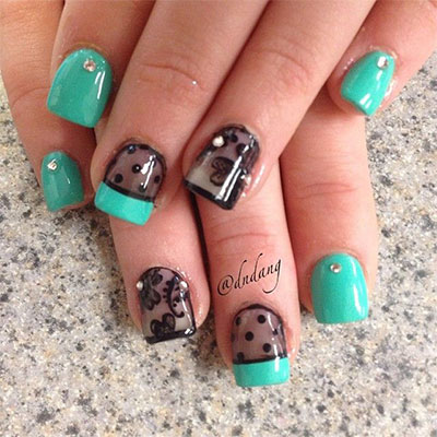 Gel Nail Design Ideas 20 ideas de diseo de uas de gel preciosos 20 French Gel Nail Art Designs Ideas Trends