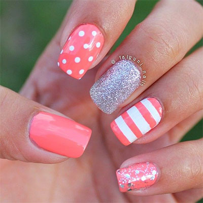 20-French-Gel-Nail-Art-Designs-Ideas-Trends-. Image source - 20 + Gel Nail Art Designs, Ideas, Trends & Stickers 2014 Gel