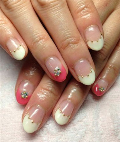 Gel Nail Designs Ideas nails best 1 20 French Gel Nail Art Designs Ideas Trends