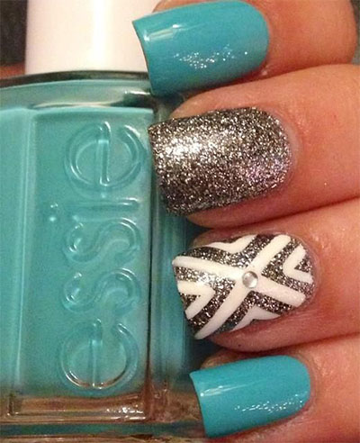 Gel Nail Design Ideas nail art 2853 best nail art designs gallery 20 French Gel Nail Art Designs Ideas Trends